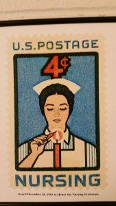 Nurse postage stamp 1961